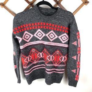 J. Crew Aztec Print Sweater